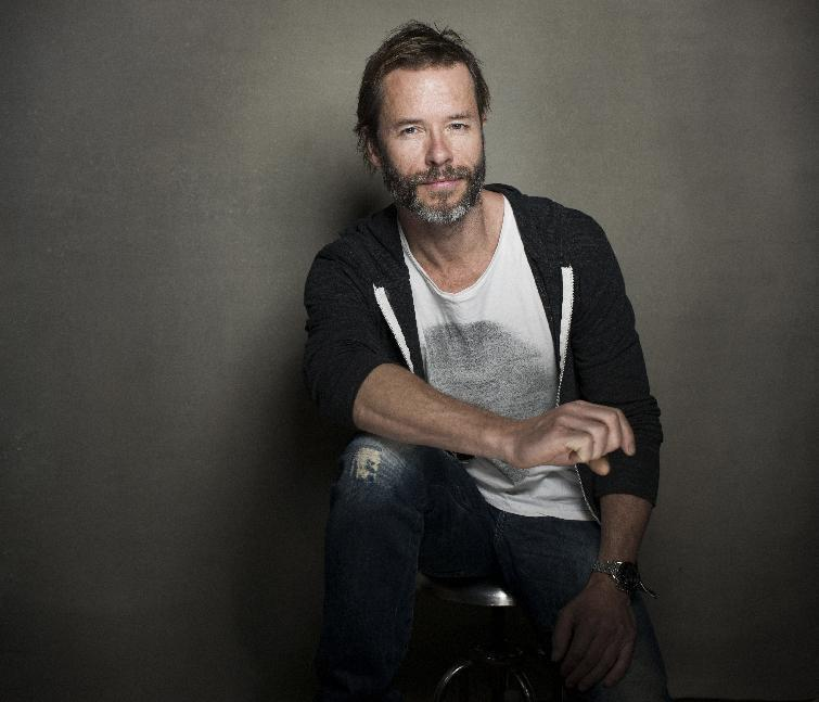 """Actor Guy Pearce from the film """"Breathe In"""" poses for a portrait during the 2013 Sundance Film Festival on Sunday, Jan. 20, 2013 in Park City, Utah. (Photo by Victoria Will/Invision/AP Images)"""