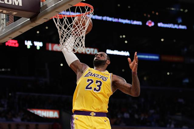 LeBron James should probably have a couple more MVP awards. (AP)