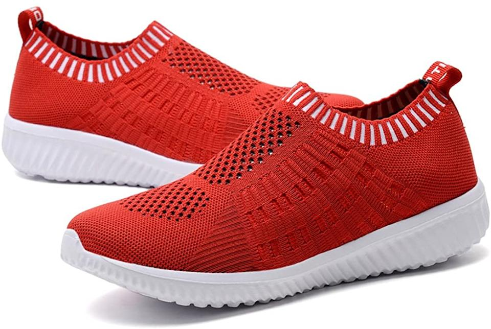 As cute as they are comfy, especially in this just-right shade of red. (Photo: Amazon)