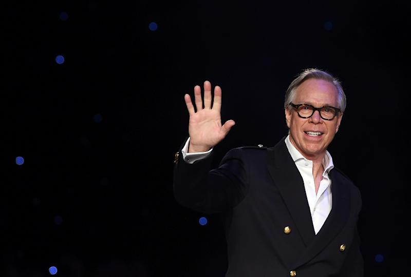 In September, Tommy Hilfiger customers will be able to buy his collection straight from the catwalk in what he calls 'click and buy' (AFP Photo/Jewel Samad                         )
