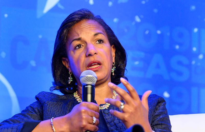 WASHINGTON, DC, UNITED STATES - 2019/05/22: Ambassador Susan Rice, former U.S. National Security Adviser and U.S. Ambassador to the United Nations, speaking at The Center for American Progress CAP 2019 Ideas Conference. (Photo by Michael Brochstein/SOPA Images/LightRocket via Getty Images)
