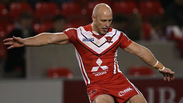 Four teams are now level at the top of Super League after Salford Red Devils overcame St Helens 22-14.