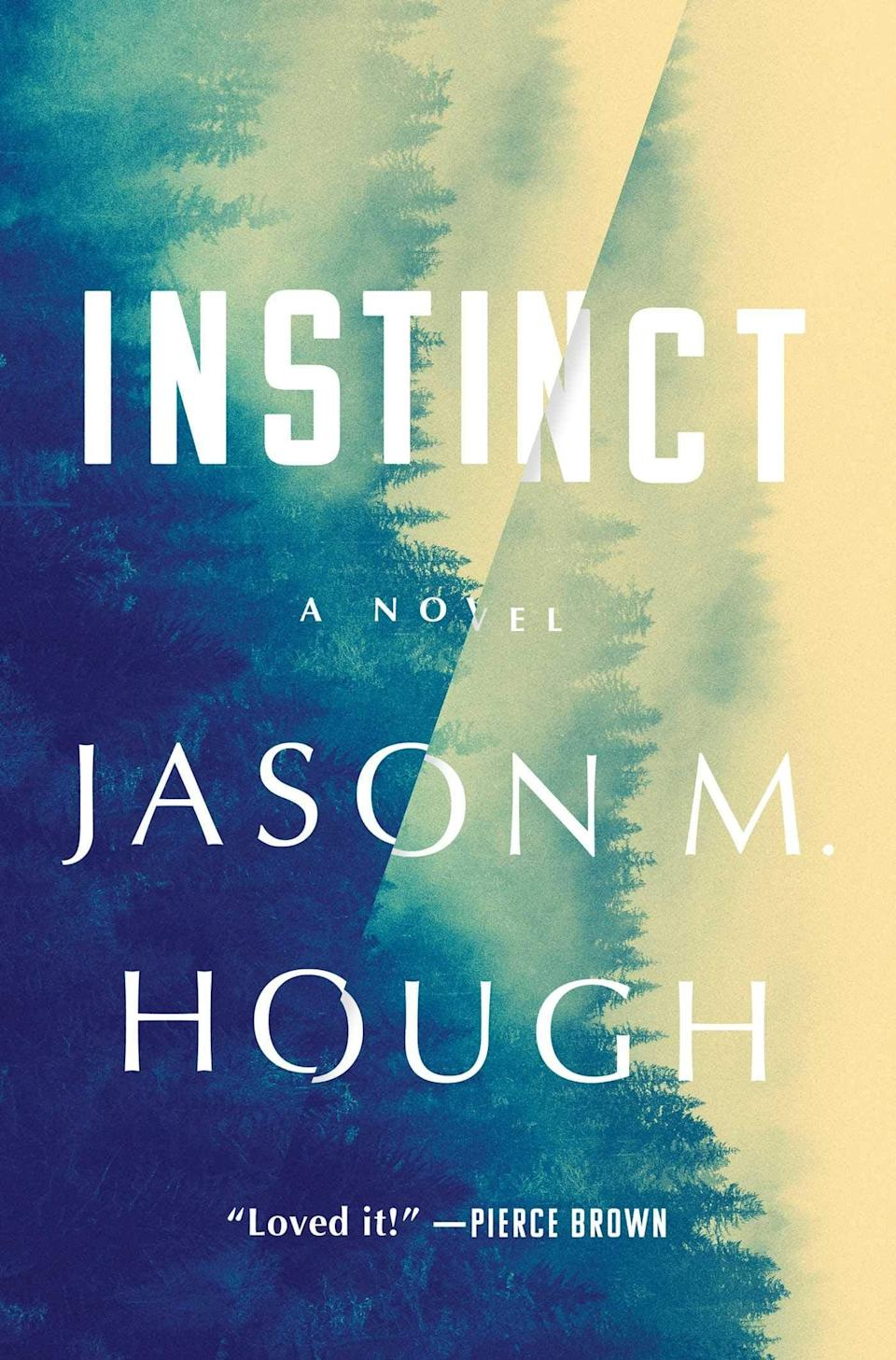 "<p>If you were a fan of <strong>The X-Files</strong>, then <a href=""https://www.amazon.com/Instinct-Novel-Jason-M-Hough/dp/1501181394"" class=""link rapid-noclick-resp"" rel=""nofollow noopener"" target=""_blank"" data-ylk=""slk:Instinct""><strong>Instinct</strong></a> by Jason M. Hough is sure to give you major Mulder and Scully vibes. Set in the small town of Silvertown, Washington, where conspiracy theories reign supreme, a series of baffling deaths suggest the townsfolk are losing their survival instinct. Now, it's up to local police officer Mary Whittaker to unravel this strange mystery before she becomes a victim of whatever is affecting the rest of the town.</p> <p><em>Out April 6</em></p>"