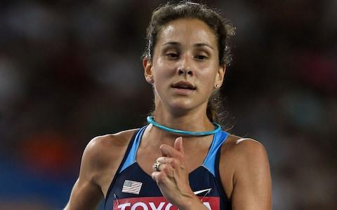 Kara Goucher of United States competes in the women's 10,000 metres final during day one of the 13th IAAF World Athletics Championships at the Daegu Stadium on August 27, 2011 in Daegu, South Korea - Credit: Getty Images