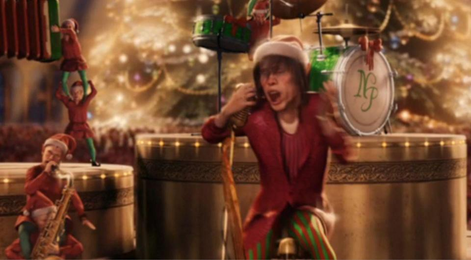 <p>The motion-capture animated fantasy <em>The Polar Express</em> features memorable performances by Tom Hanks... and Steven Tyler?! Yep. The massively successful film, which grossed $286 million at the box office, featured a cameo from rocker Steven Tyler who played (what else) a singing elf.</p>