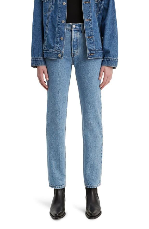 """<p>Levi's 501 High Waist Straight Leg Jeans, $59 (from $90), <a href=""""https://rstyle.me/+q0os7zu_95hfaNZYI-cMfQ"""" rel=""""nofollow noopener"""" target=""""_blank"""" data-ylk=""""slk:available here"""" class=""""link rapid-noclick-resp"""">available here</a> (sizes 000-18). </p>"""