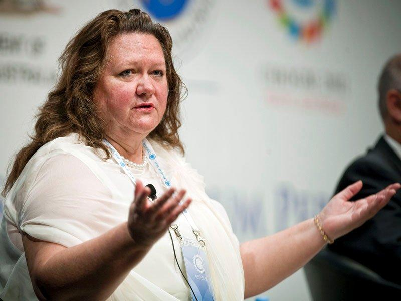 Rinehart reduces stake in Fairfax