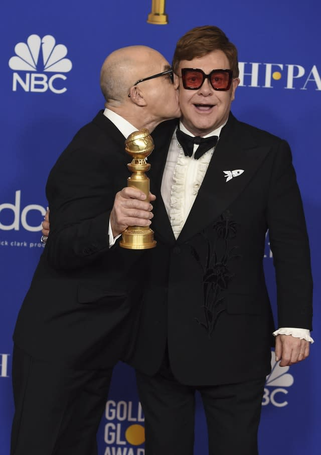 77th Annual Golden Globe Awards – Press Room