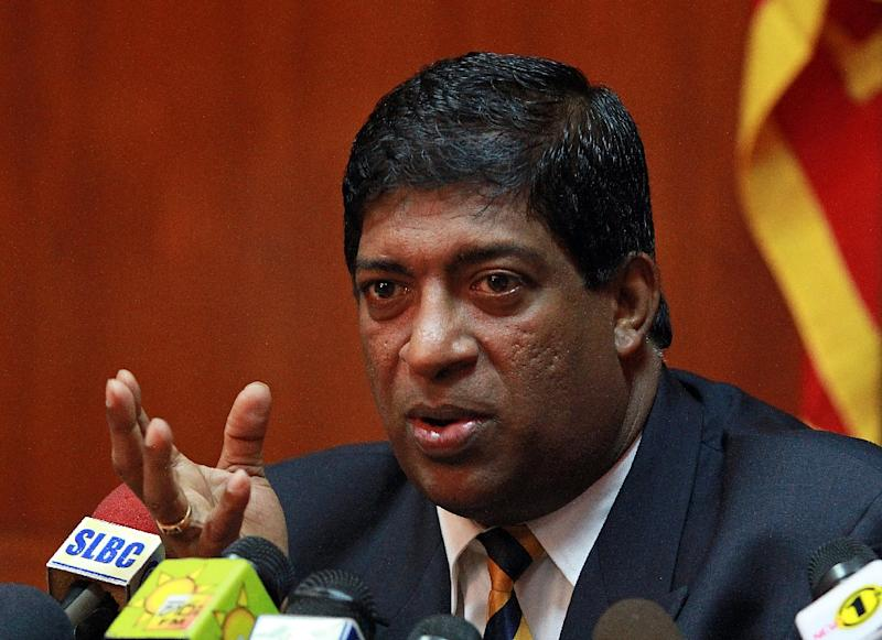 """Our tea industry has been going through a very difficult patch last year. Opening up of the Iran market will be a big boost,"" Sri Lankan Finance Minister Ravi Karunanayake (pictured) told reporters"