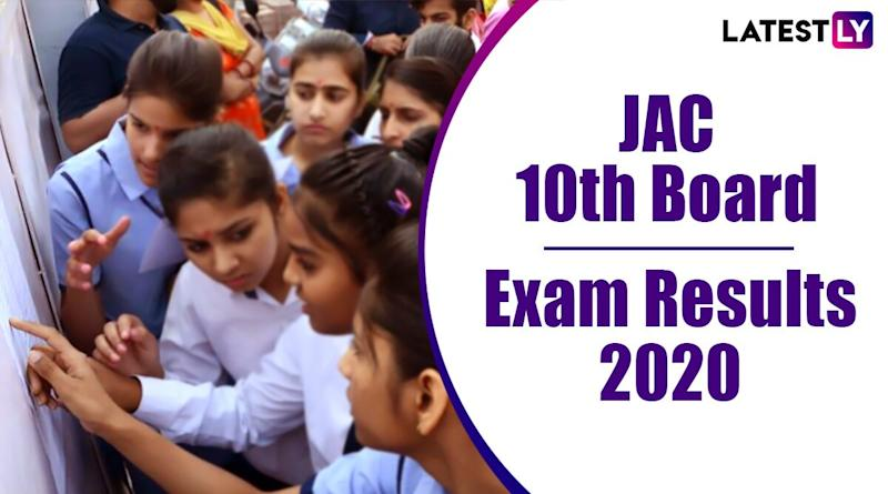 JAC 10th Result 2020 Declared: 75.01% Pass, Check Jharkhand Board Class 10 Matric Exam Result Online at jacresults.com