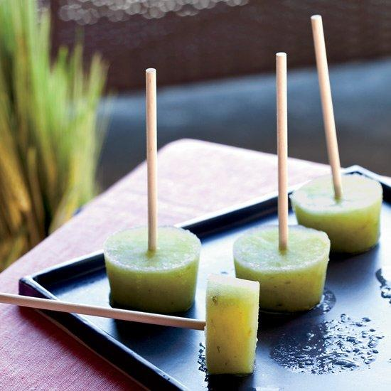 "<p><a href=""https://editor.foodandwine.com/slideshows/tim-love"">Tim Love</a> freezes all kinds of cocktails on sticks for backyard parties, but his cucumber-mint version is especially good on a blazing-hot day. To prevent the pops from melting too quickly, he adds gelatin to the mixture.</p> <p> <a href=""http://www.foodandwine.com/recipes/cucumber-lime-pops-gin"">Go to recipe</a></p>"