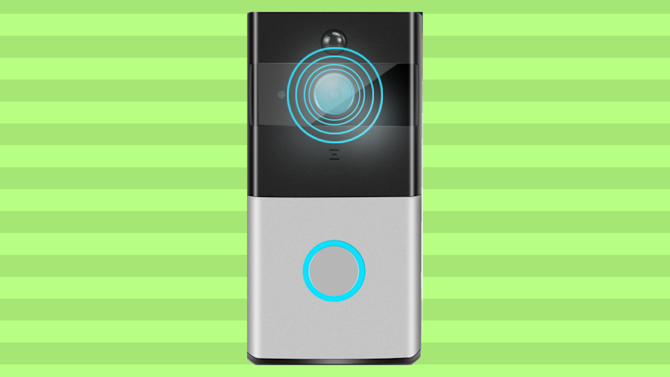 Don't be a ding-dong: Protect yourself with a state-of-the-art video doorbell.  (Photo: Walmart)