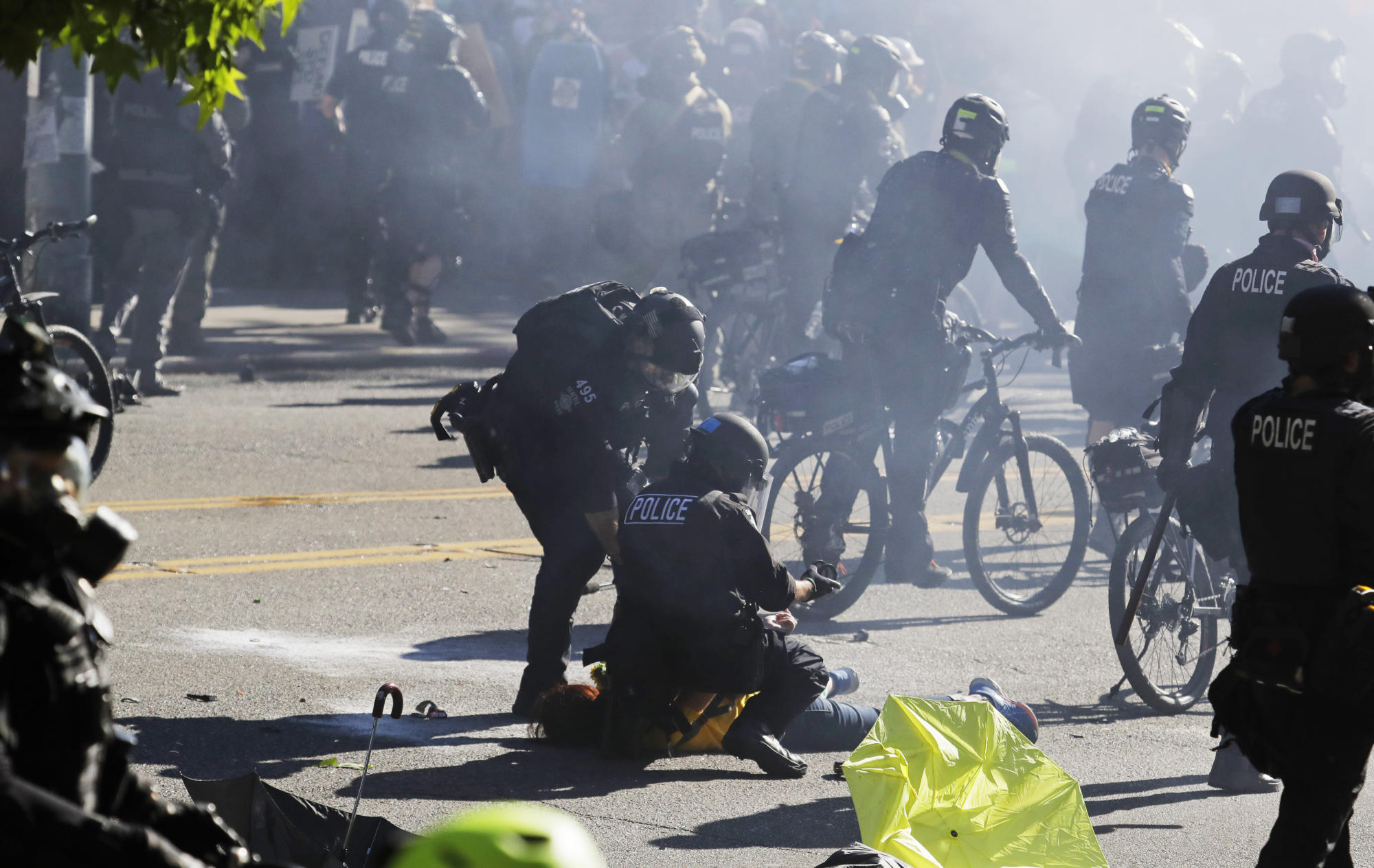 Report: Seattle officers used excessive force at protests