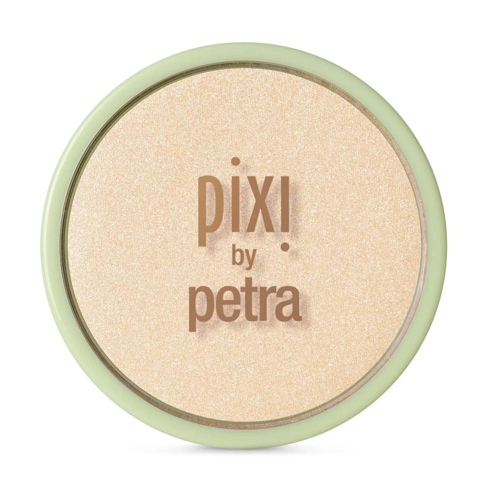 <p>The <span>Pixi by Petra Glow-y Powder Cream-y Gold</span> ($18) makes you look like a human disco ball (in the best way). While one swipe with your trusty fan brush will create a subtle sheen, you can layer it for an intense shimmer that's truly showstopping.</p>