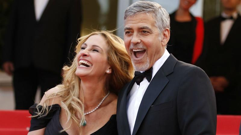 Julia Roberts Talks George Clooney, Brad Pitt and Tom Hanks' Ability to Survive Stranded on an Island