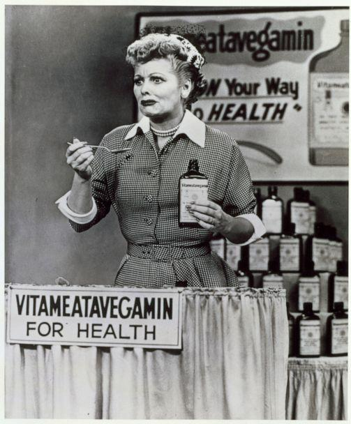PHOTO: Lucille Ball, as Lucy Ricardo in an episode of 'I Love Lucy' entitled 'Lucy Does a Television Commercial.' (CBS Photo Archive/Getty Images, FILE)