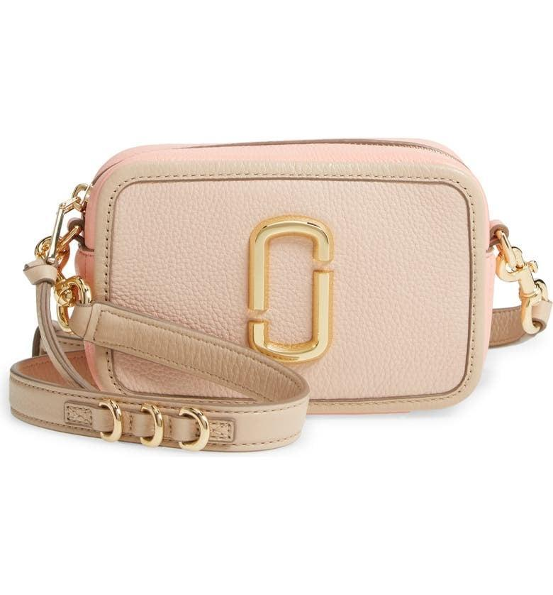<p><span>The Marc Jacobs The Softshot 17 Leather Bag</span> ($195, originally $325)</p>