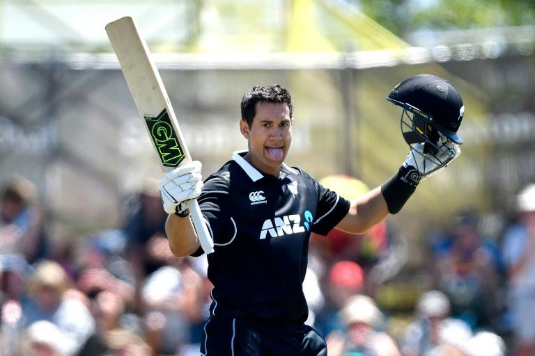 New Zealand's Ross Taylor averages nearly  50 in one-day internationals