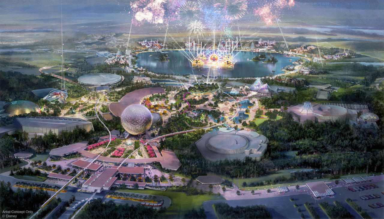 Epcot at Walt Disney World Resort in Florida is undergoing an evolution with new attractions and experiences. Epcot will have four neighbourhoods that take guests to new destinations. (Disney)