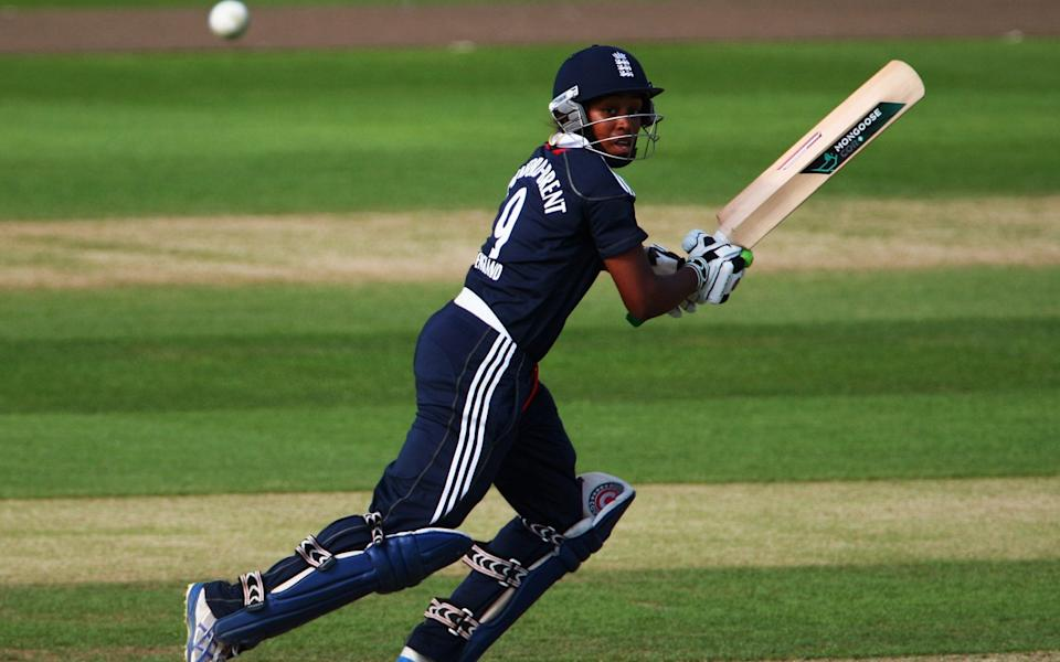 Ebony Rainford-Brent was England's first black woman cricketer - Getty Images