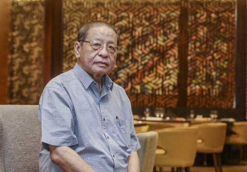 Lim said Umno and Barisan Nasional (BN) leaders had claimed in the run-up to the May 9 election that this would happen. — Picture by Firdaus Latif