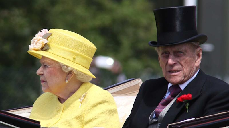 Queen Elizabeth and Prince Philip attend Royal Ascot day 2015 in Berkshire