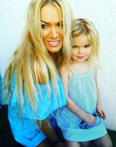The single mum's youngest is just four years old. Photo: Instagram/strawberriesandcream1