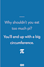 <p>You'll end up with a big circumference.</p>