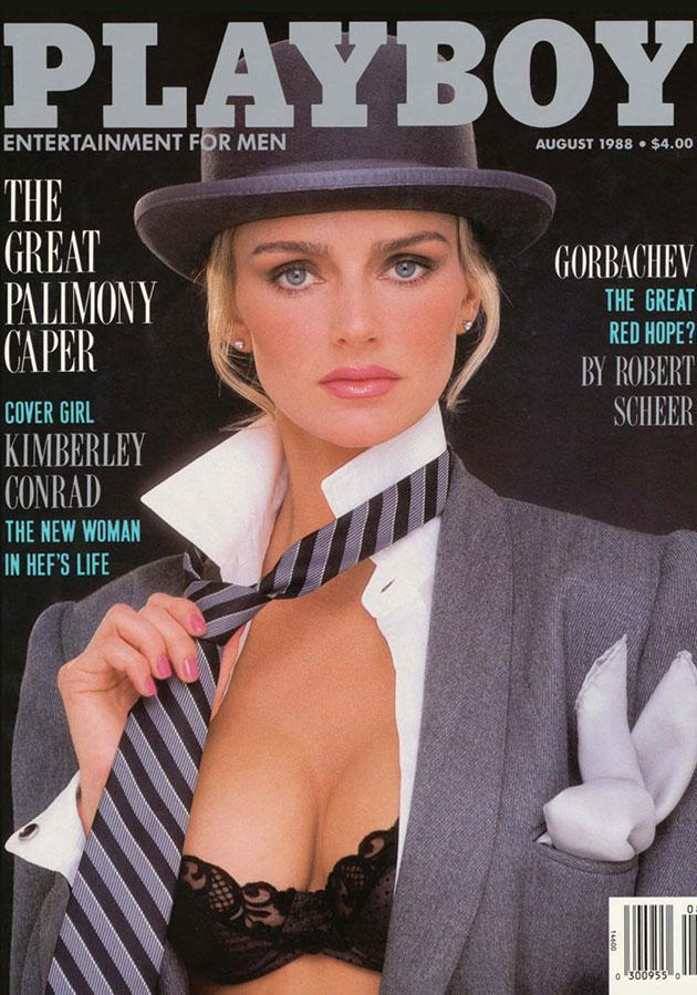 Kimberley Conrad married Hugh Hefner a year after taking this photo in 1988.
