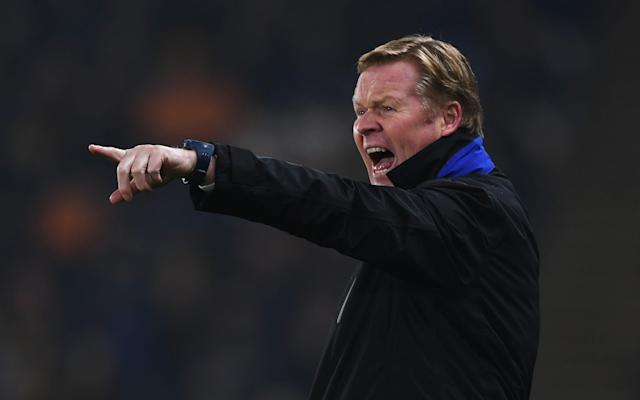 <span>Ronald Koeman is not happy with some of the Ireland decisions</span> <span>Credit: getty images </span>