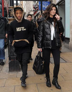 Casually, kylie jenner jaden smith right!