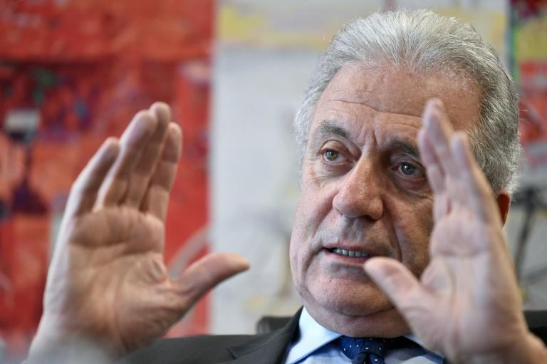 Avramopoulos said countries should not refuse refugee sharing quotas
