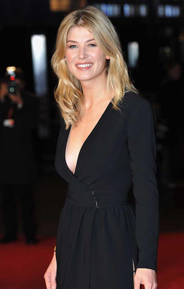 "January 27: Rosamund Pike turns 32 Samir Hussein/<a href=""http://www.gettyimages.com/"" target=""new"">GettyImages.com</a> - October 28, 2010"