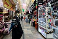 Iran has been under harsh sanctions since 2018 when the US administration of then president Donald Trump unilaterally left the nuclear deal (AFP/ATTA KENARE)