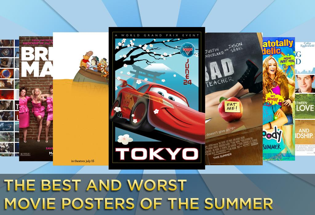 Movie posters hang in a delicate balance between advertising and art. While one should never judge a movie by its poster, some are obviously more effective than others. How do this summer's one-sheets stack up? We've put together a gallery of the Best and Worst posters of the summer blockbuster season.