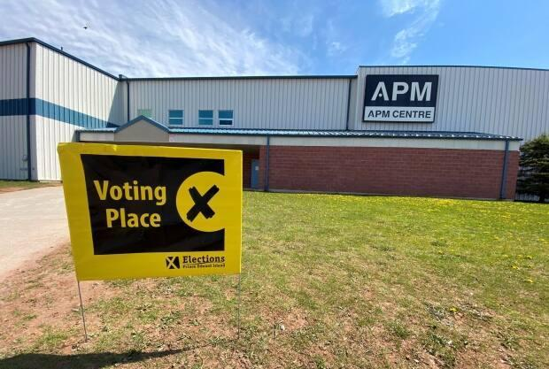The polls are open until 7 p.m. (Kirk Pennell/CBC - image credit)