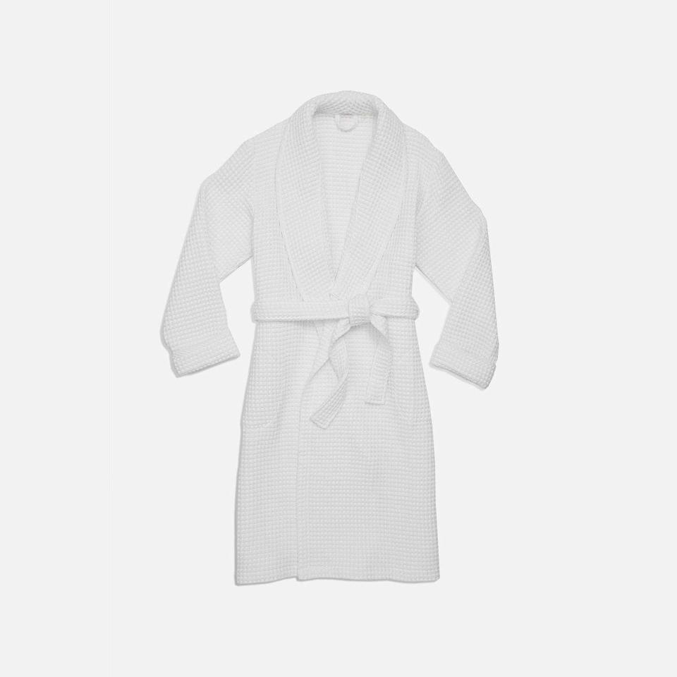"""<p><strong>Brooklinen</strong></p><p>brooklinen.com</p><p><a href=""""https://go.redirectingat.com?id=74968X1596630&url=https%3A%2F%2Fwww.brooklinen.com%2Fproducts%2Fwaffle-robe&sref=https%3A%2F%2Fwww.elle.com%2Ffashion%2Fshopping%2Fg36292145%2Fmothers-day-gifts-sale%2F"""" rel=""""nofollow noopener"""" target=""""_blank"""" data-ylk=""""slk:Shop Now"""" class=""""link rapid-noclick-resp"""">Shop Now</a></p><p><strong><del>$98</del> $79 (20% off)</strong></p><p>For a failsafe Mother's Day gift, turn to Brooklinen's reviewer-loved waffle robe. Soft and lightweight, this will make her feel fancy during self-care time. </p><p>P.S. Brooklinen's <em>entire</em> website is <a href=""""https://www.brooklinen.com/"""" rel=""""nofollow noopener"""" target=""""_blank"""" data-ylk=""""slk:20 percent off"""" class=""""link rapid-noclick-resp"""">20 percent off</a> now through May 5 for its seventh anniversary and birthday sale. </p>"""