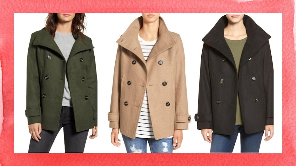 Nordstrom's Thread & Supply peacoat is on sale for just $38.