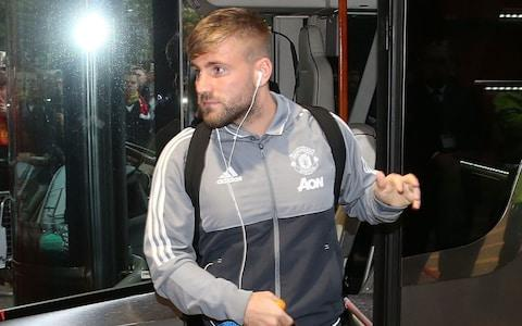Luke Shaw gets a place on the bench for United - Credit: Matthew Peters/Man Utd via Getty Images