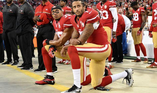 Colin Kaepernick: NFL chief Roger Goodell 'sorry' for not listening to player who led anthem kneel protest