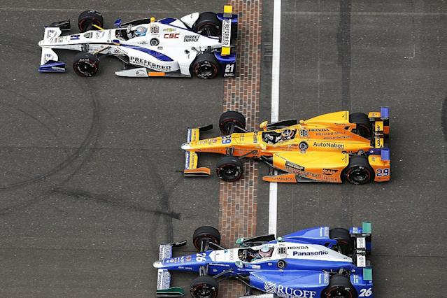 Alonso's Indy entry to be powered by Chevrolet