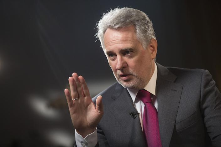 Ukrainian billionaire Dmytro Firtash in 2016. (Photo: Simon Dawson/Bloomberg via Getty Images)