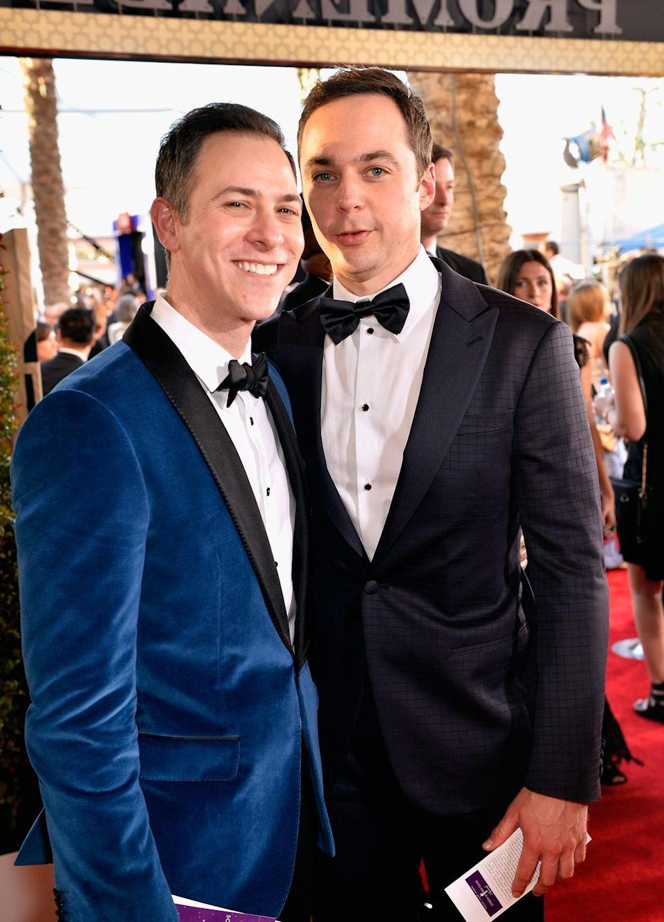 <p>The <em>Big Bang Theory </em>actor and graphic designer Todd Spiewak were dating for over a decade before officially tying the knot in 2017. </p>