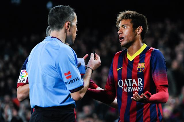 La Liga has refused to accept Neymar's buyout payment from Paris Saint-Germain. (Getty)
