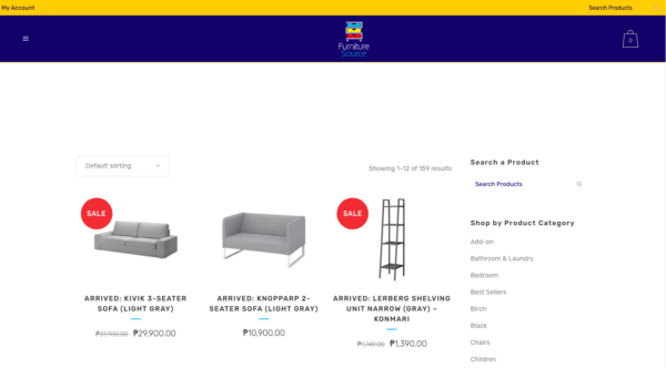 online furniture stores in the philippines - furniture source
