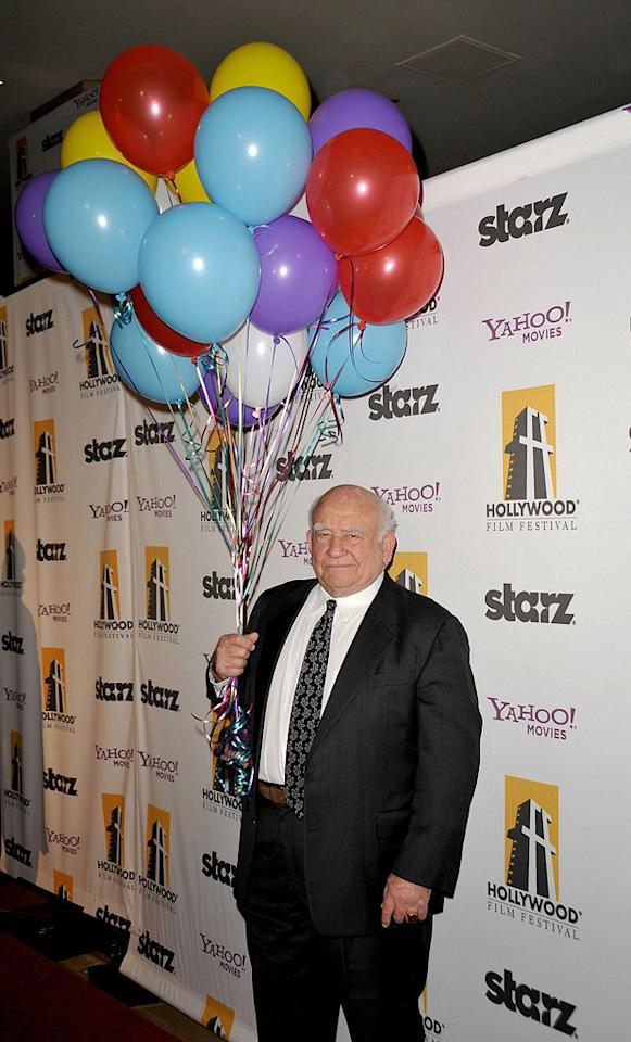 "<a href=""http://movies.yahoo.com/movie/contributor/1800014329"">Ed Asner</a> at the 13th Annual Hollywood Awards Gala held at the Beverly Hilton Hotel - 10/26/2009"