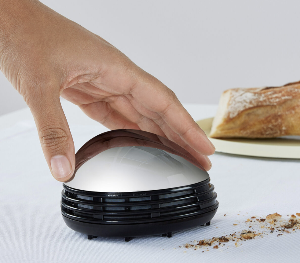 The easiest way to clean all those crumbs off your table. (Photo: Amazon)