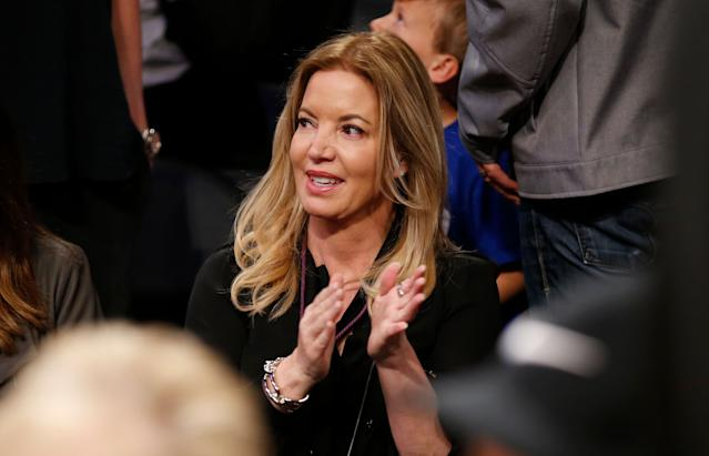 Did Rich Paul infuriate Jeanie Buss so much that she considered trading LeBron James? (AP)