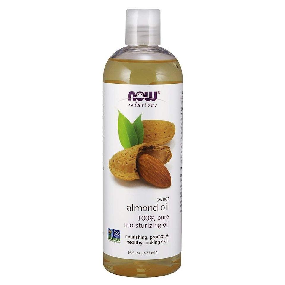 <p>Taking off makeup and moisturizing your face has never been easier, thanks to this <span>NOW Solutions Sweet Almond Oil</span> ($8).</p>