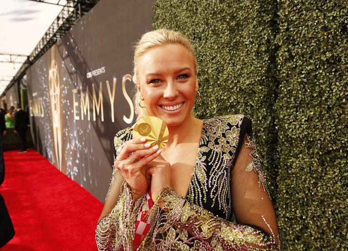 Jessica Long Had the Hottest Plus-One at the Emmys: Her Tokyo Gold Medal